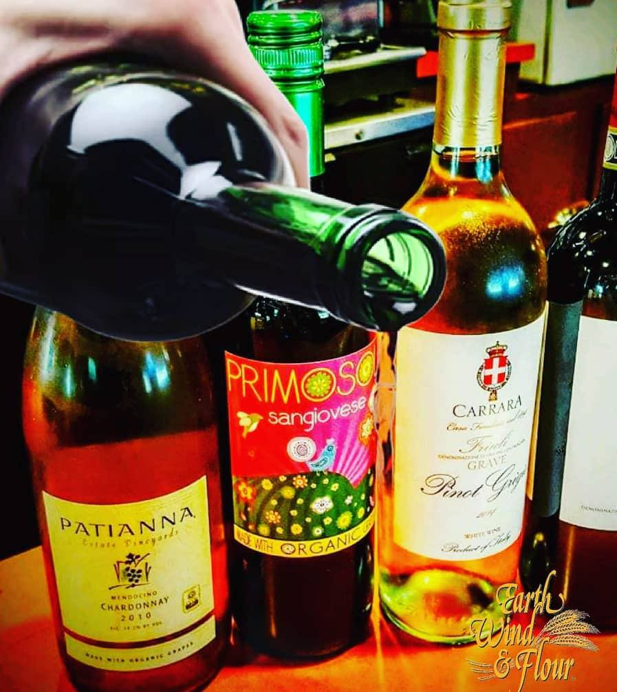 Benefits of Red Wine with your Italian Food!