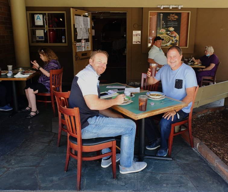 Outdoor Dining In California